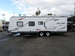 2014 Wildwood X-Lite Ultralite Bunk House Travel Trailer  26'