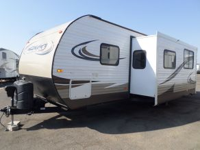2015 Forest River EVO T2850 Travel Trailer Bunk House Photo 2