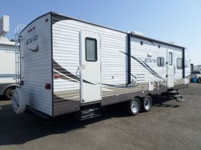 2015 Forest River EVO T2850 Travel Trailer Bunk House Photo 3