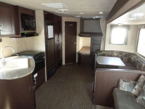 2015 Forest River EVO T2850 Travel Trailer Bunk House Photo 4