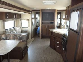 2015 Forest River EVO T2850 Travel Trailer Bunk House Photo 5
