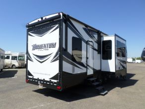 2017 Grand Design Momentum M350 5th Wheel Toy hauler Photo 5