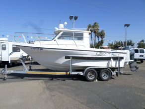1998 Osprey 21 Fisherman Pilothouse Fishing Boat  21'