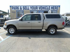 2002 Ford F150 SuperCrew Cab 4x4 Short Bed