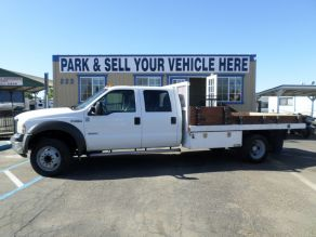 2005 Ford F450 Super Duty Crew Cab Flat Bed Dually Diesel