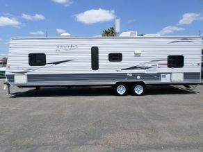 2009 Kingsport RV Royal Edition Lite Bunkhouse Bumper Pull Travel Trailer  29'