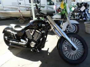 2009 Victory Jackpot Premium 8 Ball Edition Custom Motorcycle