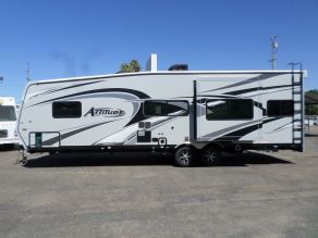 2016 Eclipse Attitude Toy Hauler Travel Trailer