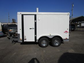 2021 Interstate Tandem Axle Pro Series 7x12 Enclosed Cargo Trailer Photo 1